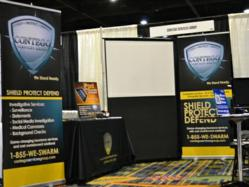 Contego's booth at the 67th Annual Workers Compensation Educational Conference and 24th Annual Safety &amp; Health Conference.